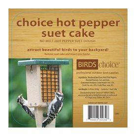 Birds Choice 141-Oz Hot Pepper Peanut Suet Chps12