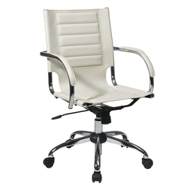 Display Product Reviews For Ave Six Trinidad Cream Contemporary Task Chair