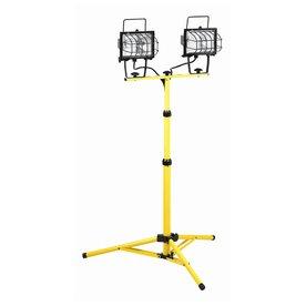 K Tool International Halogen Stand Work Light Kti73375
