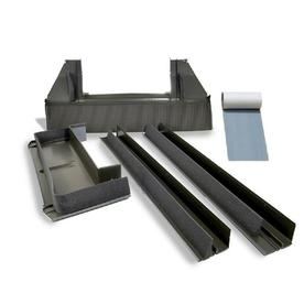 VELUX S06 Deck Mount Tile Roof 53.25-in x 55.75-in Aluminum Flashing Kit for for Skylights EDW S06 0000A