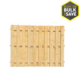 Severe Weather Pine Dog-Ear Pressure Treated Wood Fence Panel (Common: 6-ft x 8-ft; Actual: 6-ft x 8-ft) OGF10854