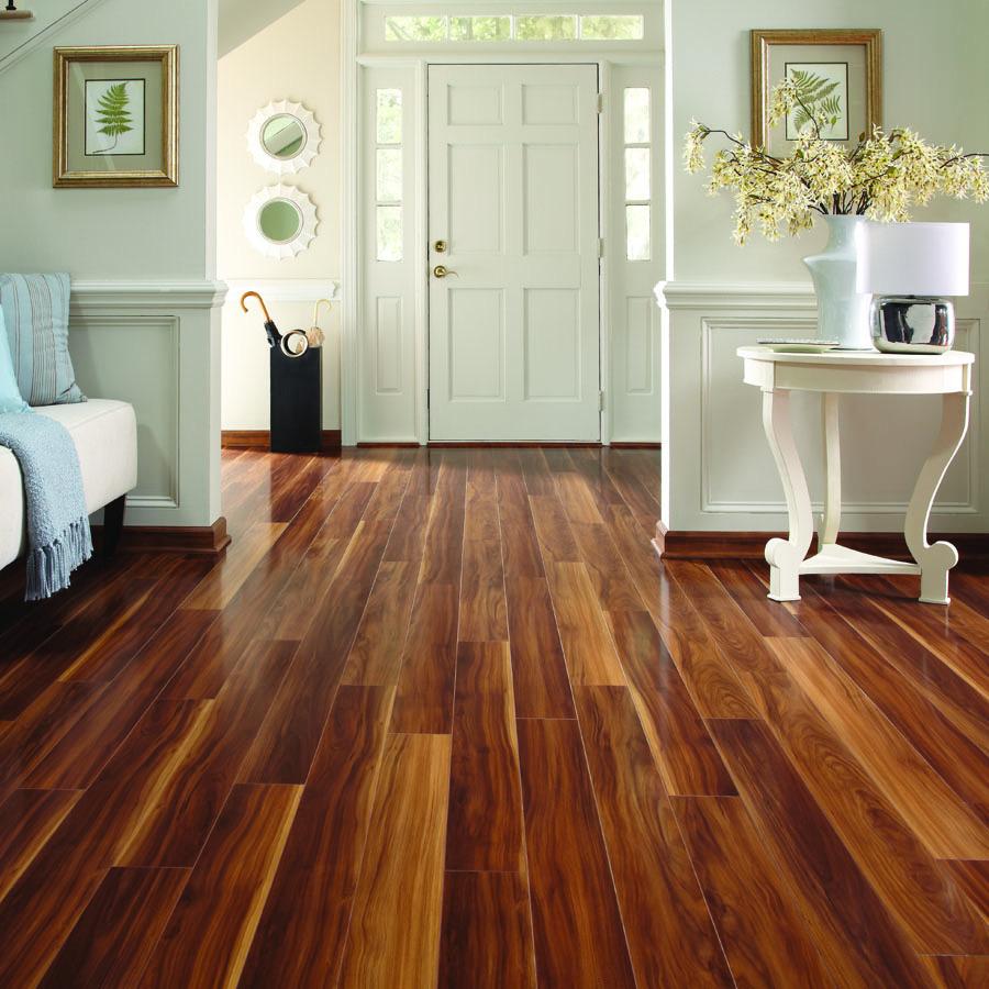Pergo Max 5 In W X 3 97 Ft L Visconti Walnut Wood Plank Laminate