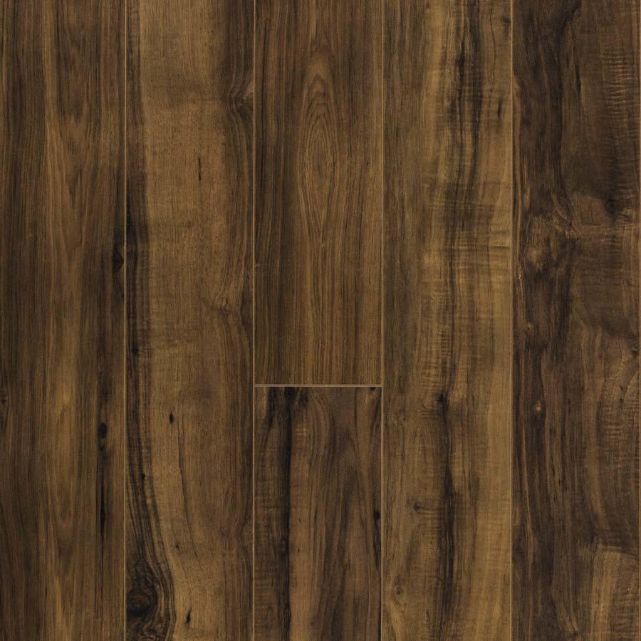 Shop Pergo Max Embossed Pecan Wood Planks Sample Fairview