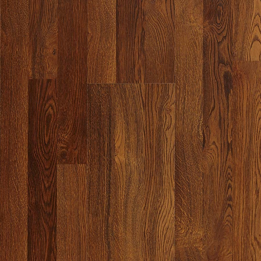 Shop Pergo Max Embossed Oak Wood Planks Sample Sherwood