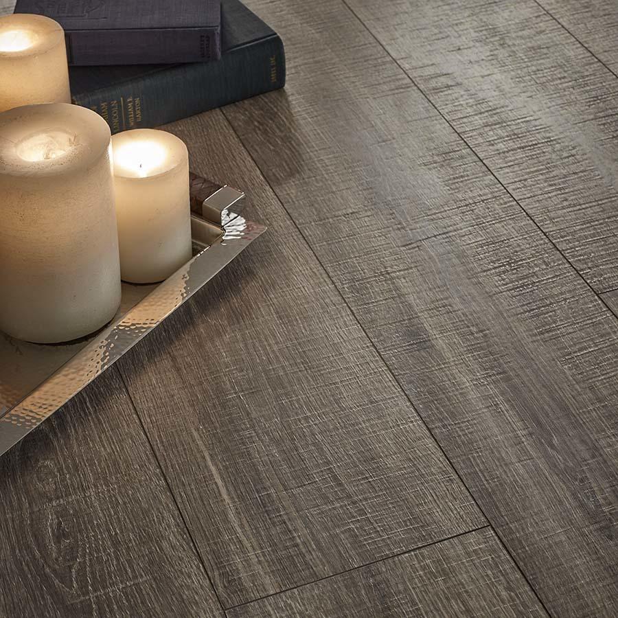Pergo MAX Premier Heathered Oak 3.3-in W Embossed Wood Plank Laminate  Flooring