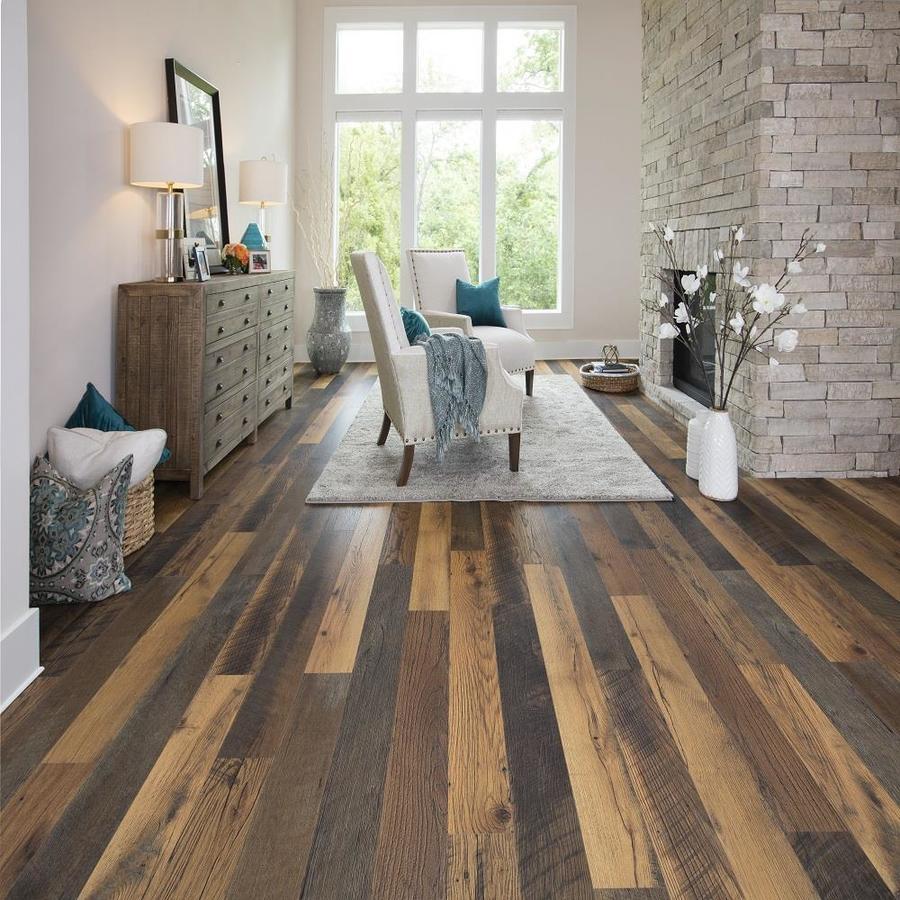 Embossed Wood Plank Laminate Flooring
