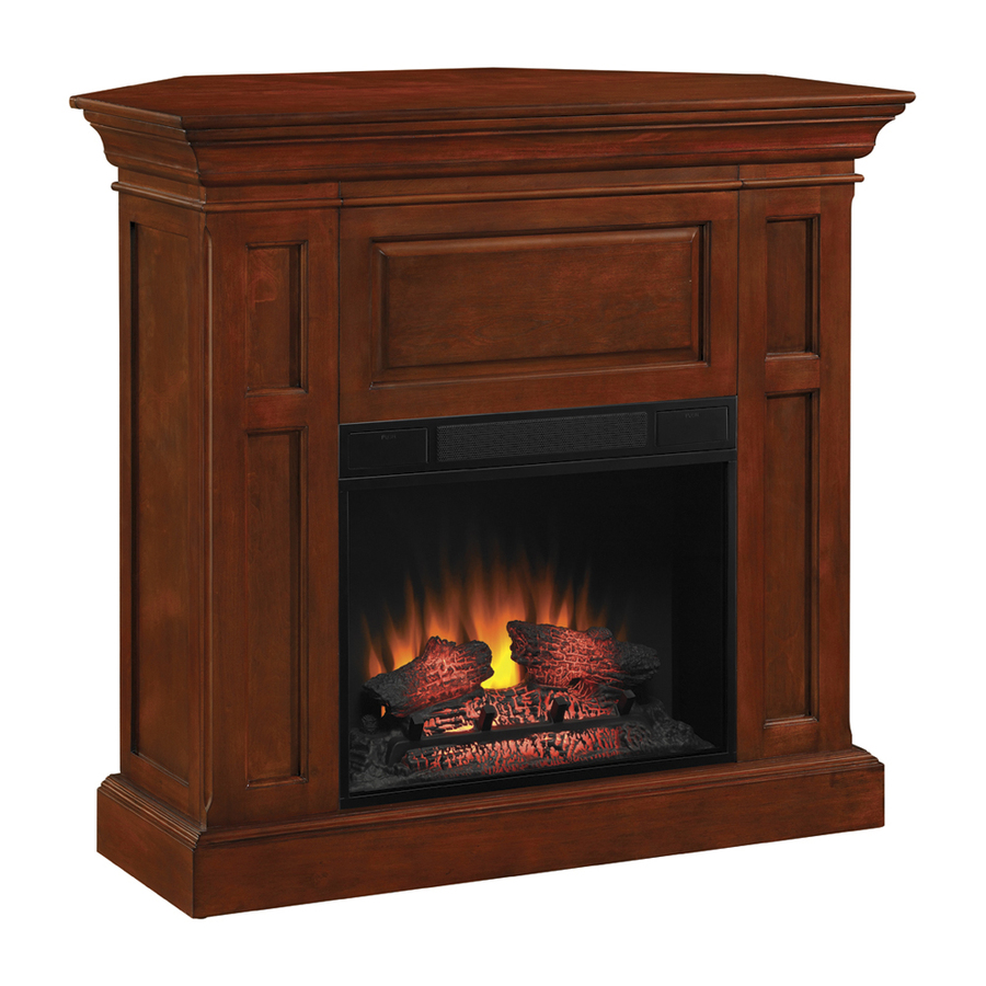 Lowes Fireplace Screens: Shop Chimney Free 42-in W 4,600-BTU Cherry Electric