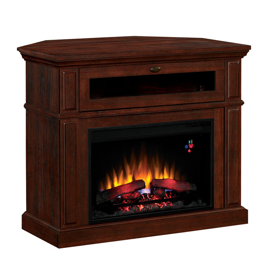 Lowes Fireplace Screens: Shop Style Selections 40-in W 4,600-BTU Brown Cherry
