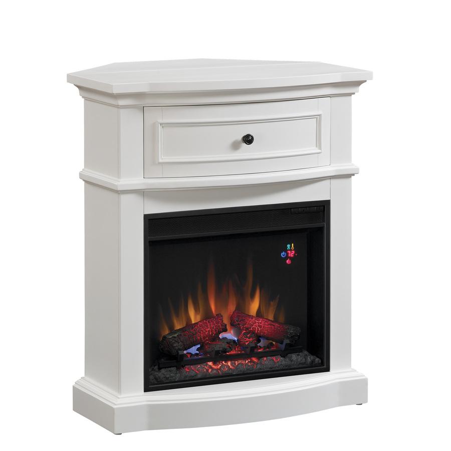 Shop Chimney Free 32 In W 4 600 Btu White Wood And Metal