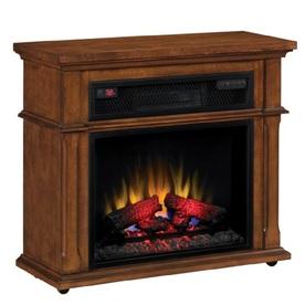 Duraflame 33-In W 5,200-Btu Vintage Mahogany Wood Infrare...