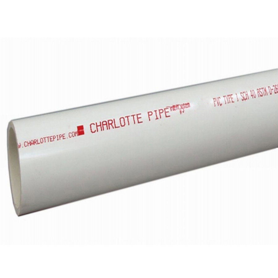 Shop Charlotte Pipe 3 4 In X 10 Ft 480 Psi Schedule 40 Pvc