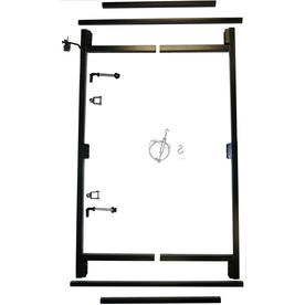 Lowes Adjust A Gate Composite Fence Gate Kit Fencing Outdoor