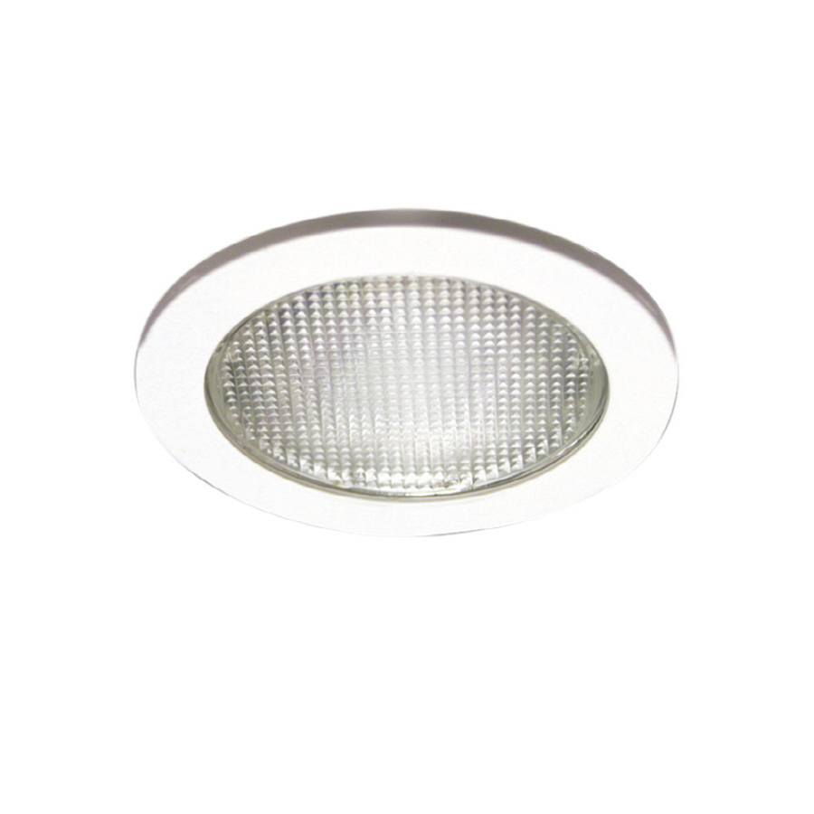 sports shoes fe4d3 f1c04 Halo White Shower Recessed Light Trim (Fits Housing Diameter ...