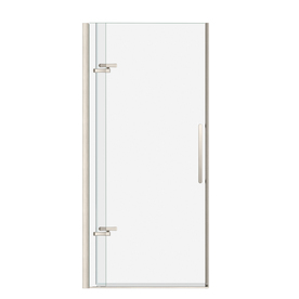 Shop Maax Bliss 32 5 In To 35 5 In Brushed Nickel