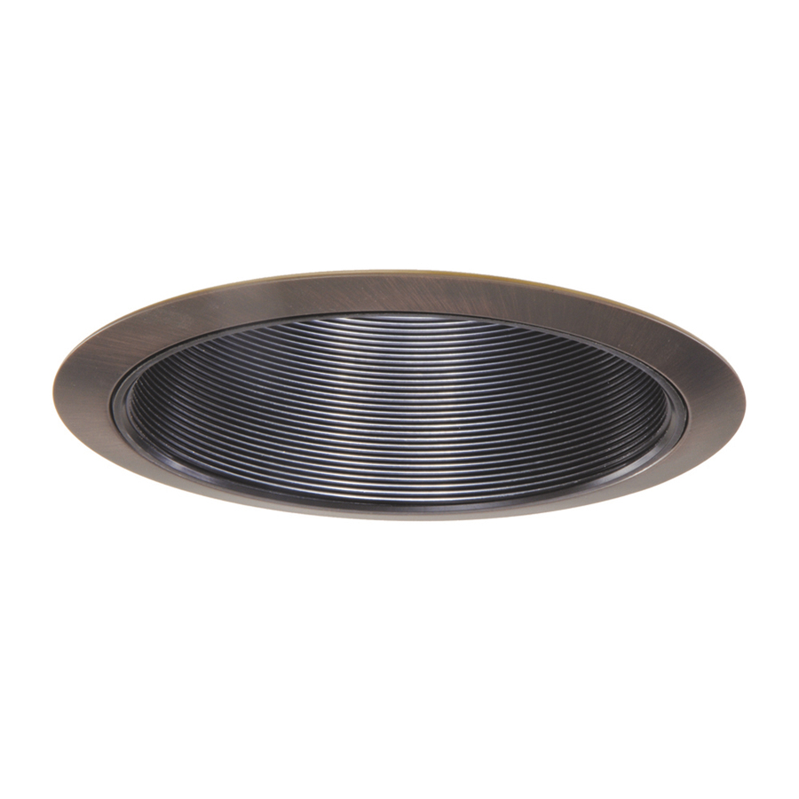 Shop Halo Coilex Tuscan Bronze Baffle Recessed Light Trim