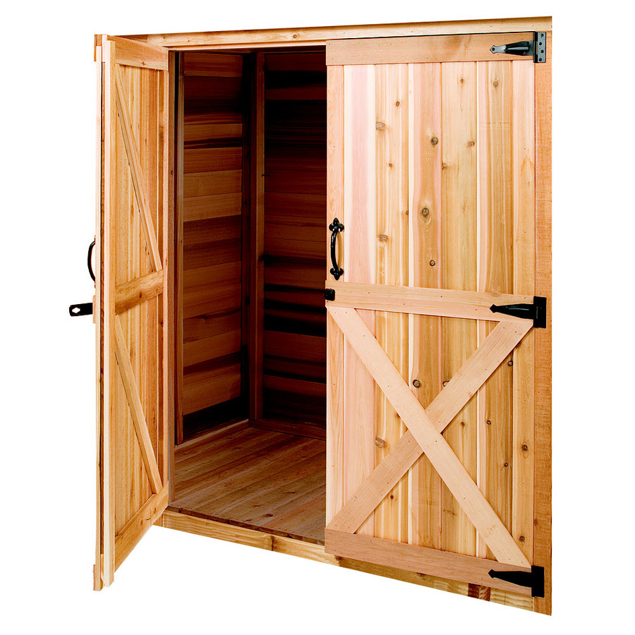 Cedarshed Cedar Storage Shed Door On