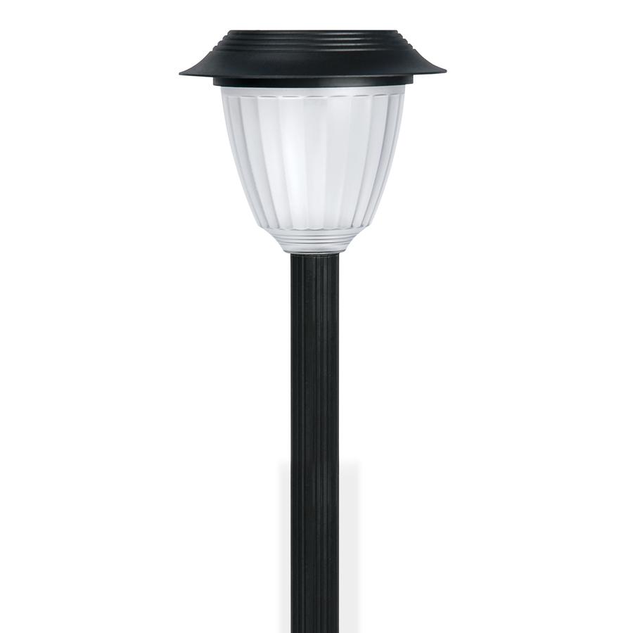Shop Portfolio Black Solar Powered Led Path Light At Lowes Com