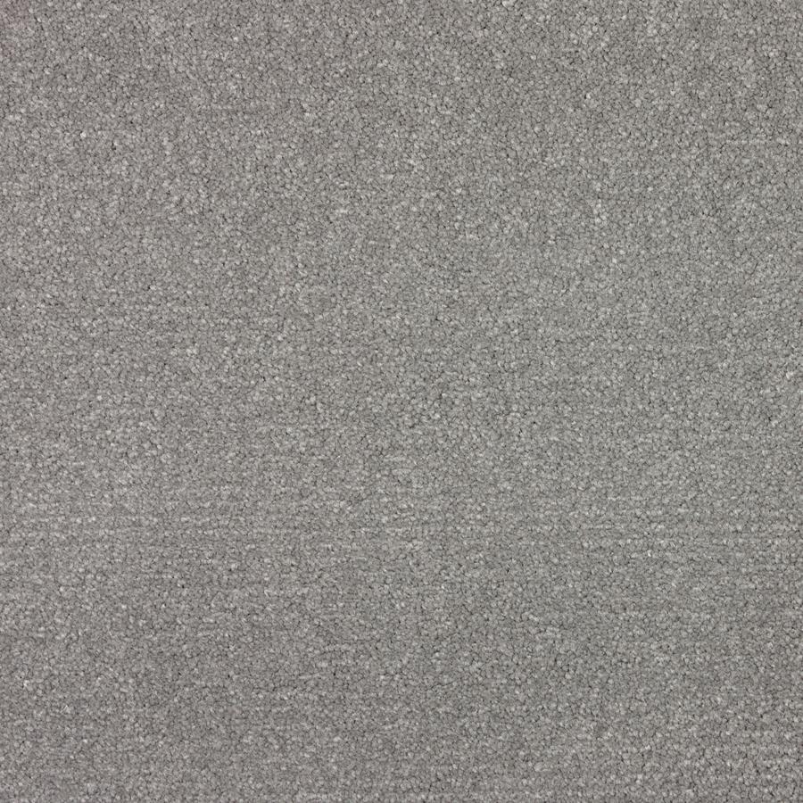 Shop Stainmaster Wembley Metallic Grey Saxony Indoor