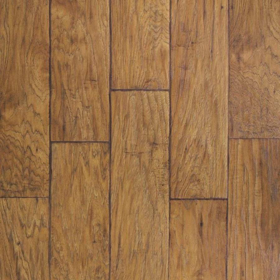 Hardwood Laminate Flooring Lowes: Shop Allen + Roth 6.14-in W X 4.52-ft L Saddle Handscraped