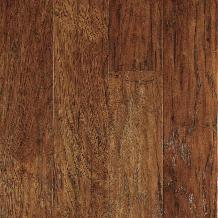 Shop Allen Roth Handscraped Hickory Wood Planks Sample