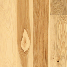 Shop Pergo 5 In W Prefinished Hickory Hardwood Flooring