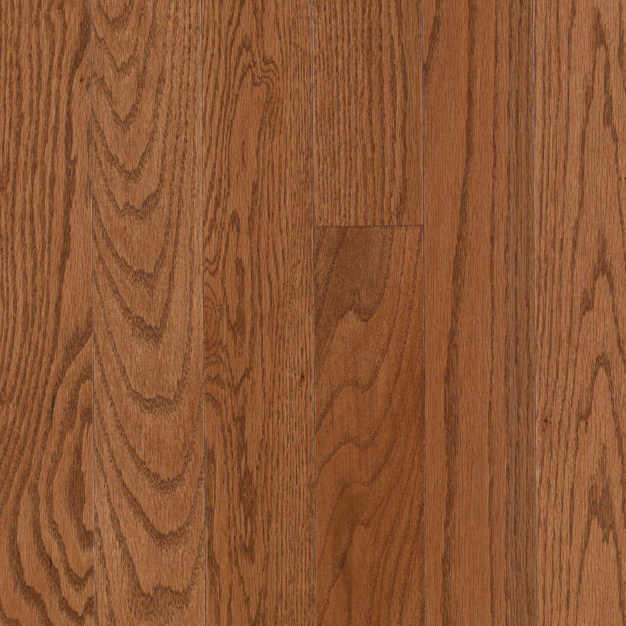 American Era Prefinished Gunstock Oak Oak Smooth/Traditional 3/4-in Solid Hardwood Flooring Sample in Brown | - Pergo 830236