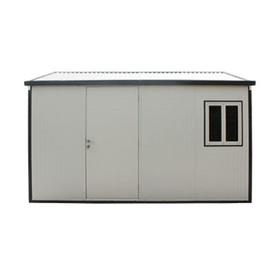 Duramax Building Products Sheds & Storage Gable Roof 13 ft. x 10 ft. Insulated Building Metal Shed 30532