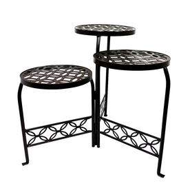 Display Product Reviews For 21 In Bronze Indoor Outdoor Round Steel Plant Stand