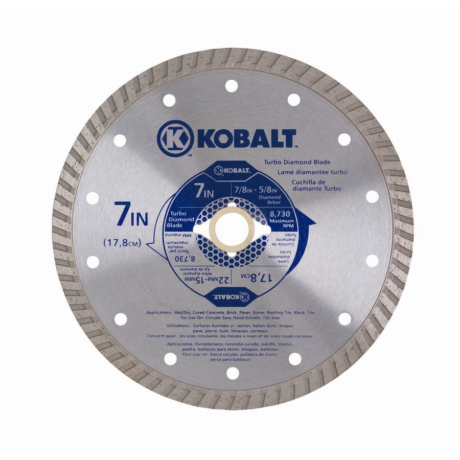 Shop Kobalt 7 In Wet Or Dry Continuous Diamond Tipped