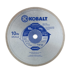 Kobalt 10-In Wet Continuous Diamond Saw Blade 30825