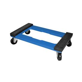 Display Product Reviews For 1000 Lb 4 Wheel Blue Resin Dolly