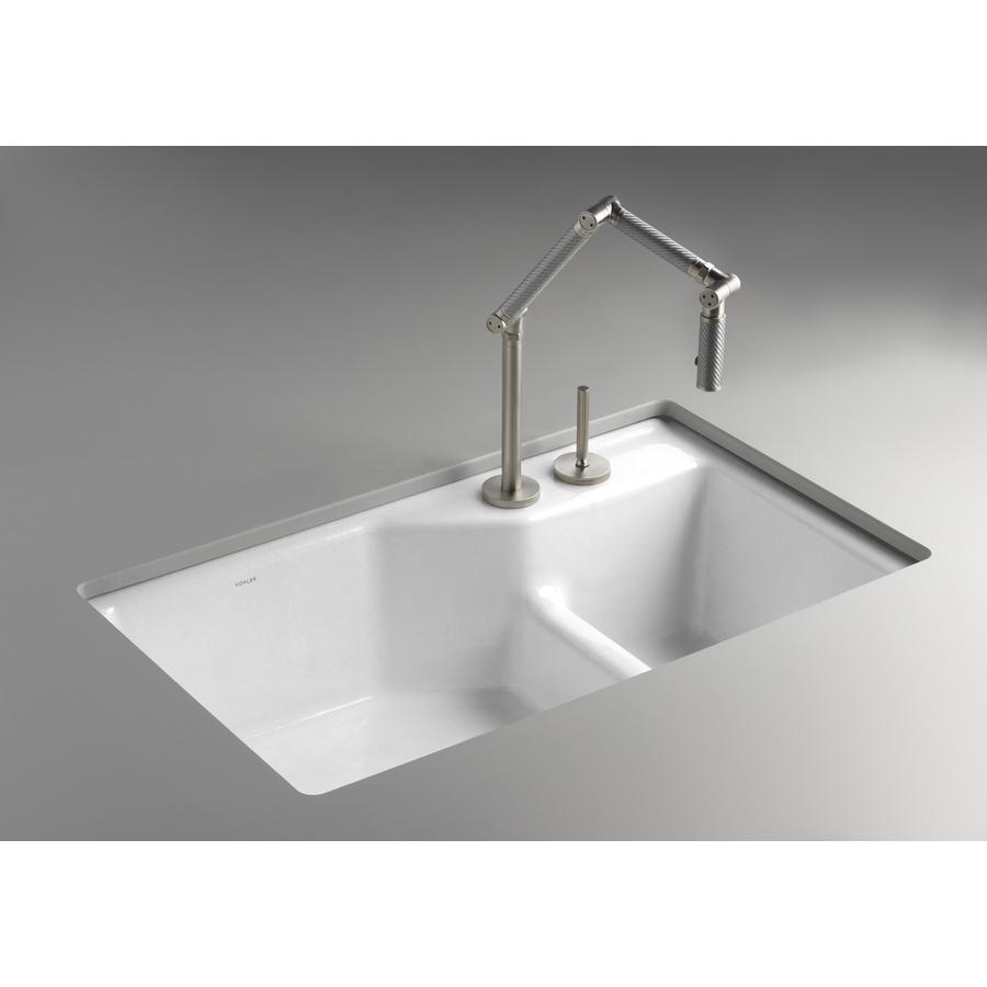 Undermount Cast Iron Kitchen Sink
