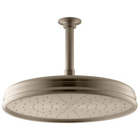 Kohler Traditional Vibrant Brushed Bronze 1-Spray Shower ...