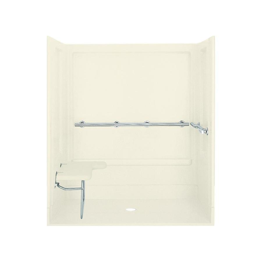 Sterling Biscuit 4-Piece Alcove Shower Kit 40-in x 63-in 62070125-96