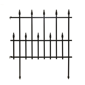 Superb Display Product Reviews For Empire Black Powder Coated Steel Garden Edging  (Common: 0.03