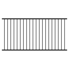 Shop Ironcraft Powder Coated Steel Decorative Metal Fence