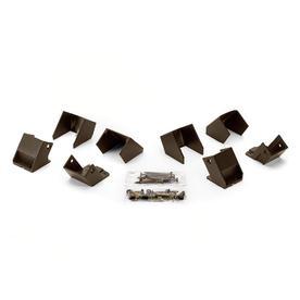 Shop Trex Bronze Newel Post Installation Kit At Lowes Com
