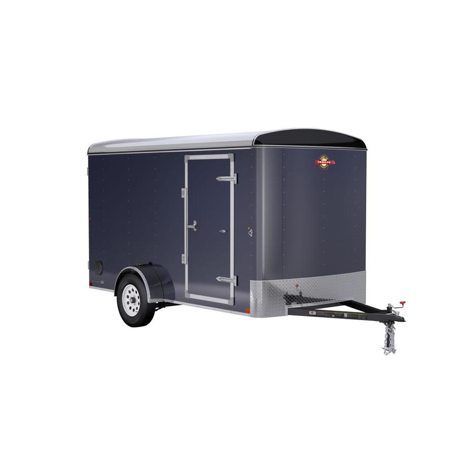 Shop Carry On Trailer 6 Ft X 12 Ft Enclosed Trailer At