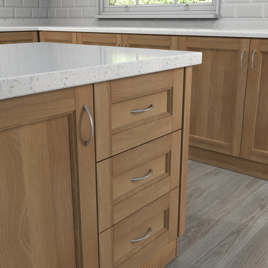 Lowes Kitchen Cabinet Pulls: Shop Style Selections 96mm Center-To-Center Satin Nickel