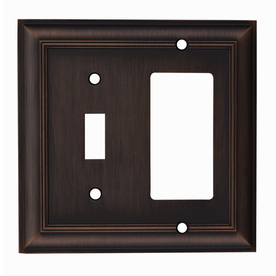 Display Product Reviews For Cosgrove 2 Gang Oil Rubbed Bronze Single Round Wall Plate