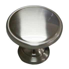 Display Product Reviews For Satin Nickel Round Cabinet