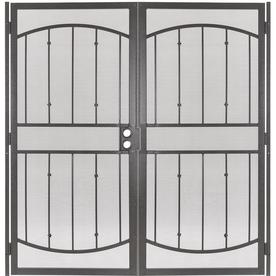 Gatehouse Steel Surface Mount Double Security Door (Commo...