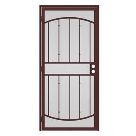 Shop Gatehouse Gibraltar Bronze Steel Security Door