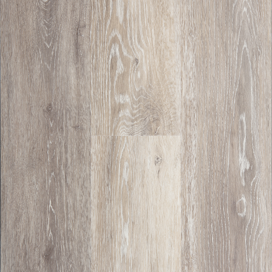 Washed Oak- Dove 5.74-in x 47.74-in Waterproof Interlocking Luxury Vinyl Plank Flooring (19.03-sq ft) in Gray   - STAINMASTER LWD9542CCF