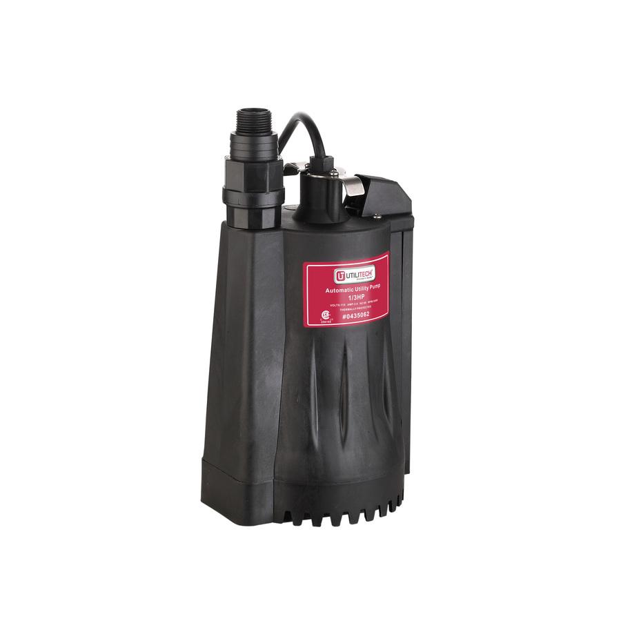 Water Pump: Utilitech Water Pump