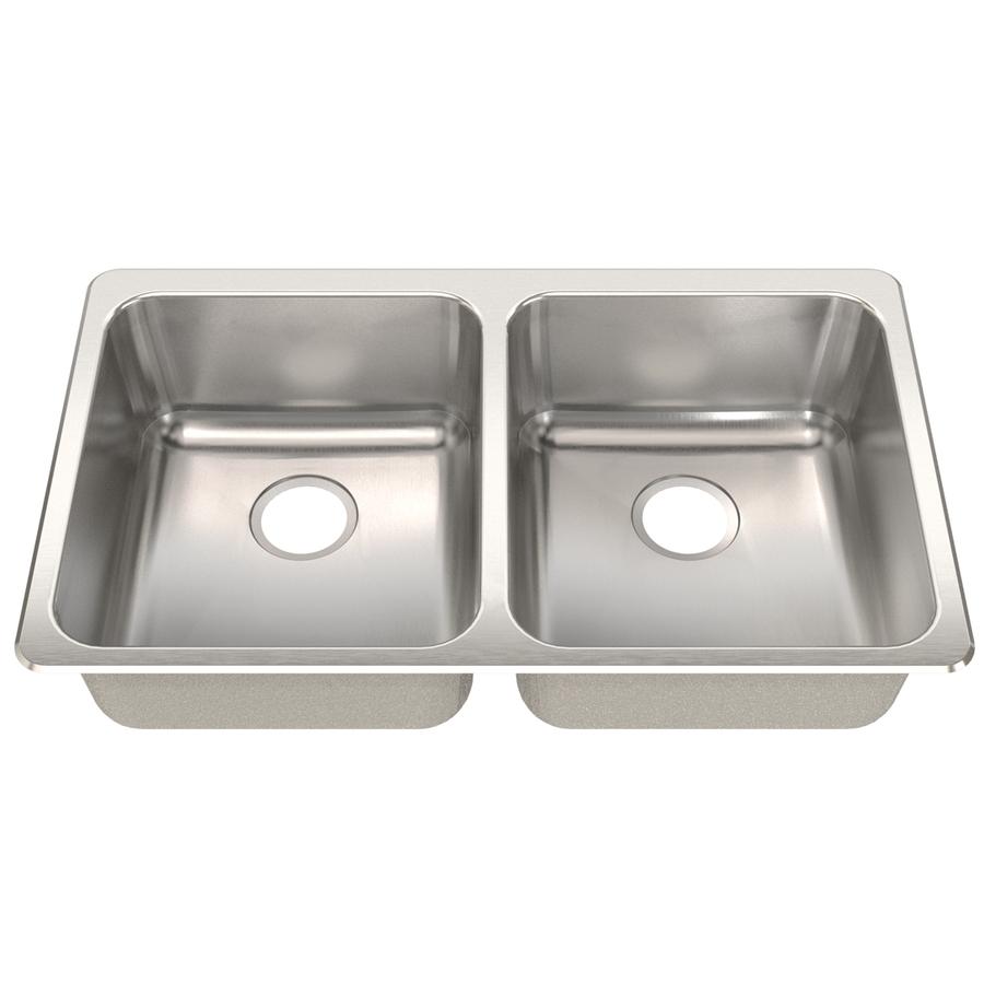 Franke Usa Double Basin Stainless Steel Undermount Kitchen Sink