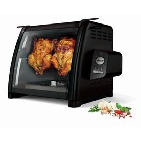 Ronco 1250-Watt Black Countertop Rotisserie Oven St5500blgen