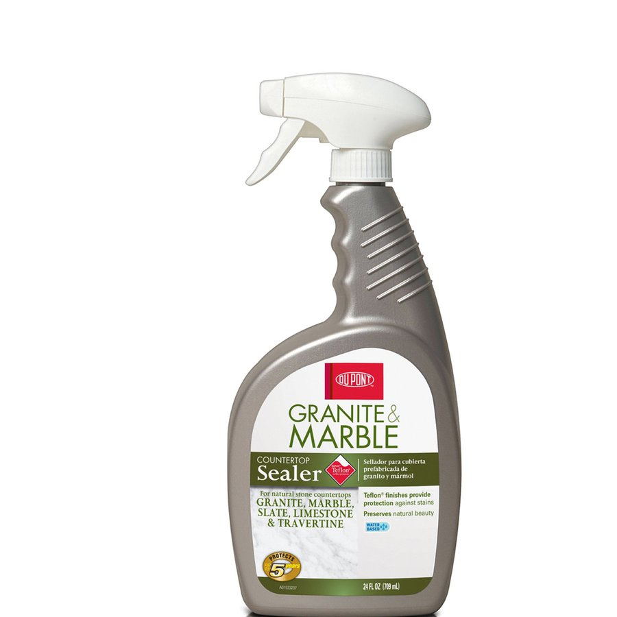 granite countertop sealer lowes shop dupont 24 oz granite and marble sealer at lowes 760