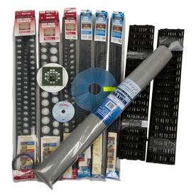 Mark E Goof Proof Black Polystyrene Shower Kit Ssck-701D