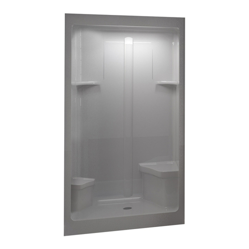 Shower Stalls From Lowes By Sterling Amp Aqua Glass Shower
